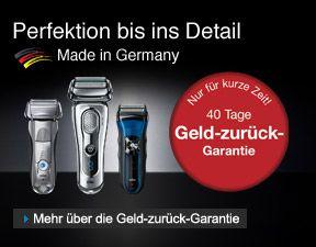 Made in Germany Geld-zurück-Garantie