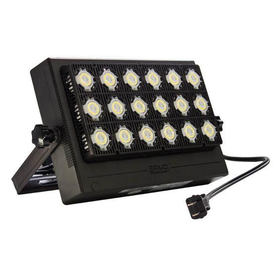 Sansi 100 Watt Black 10 000 Lumens Outdoor Integrated Led Ip66 Waterproof 5700k Daylight Panel Flood Light In 2020 Chanel Boy Bag Chanel Boy Black