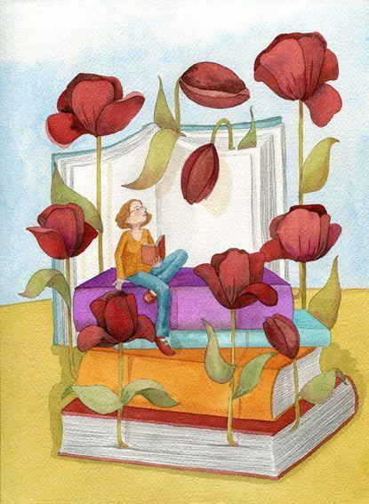 Floreciendo lecturas.: