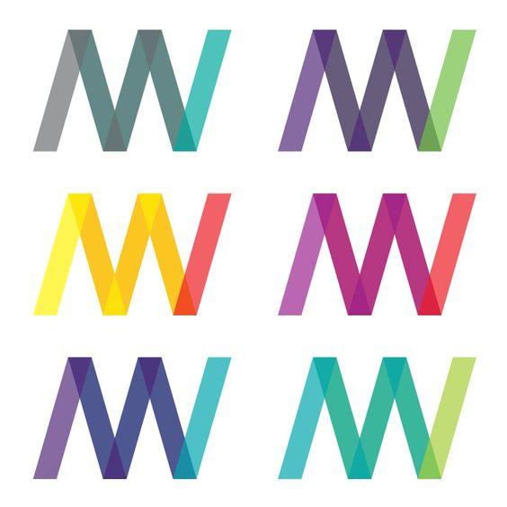 M W logo