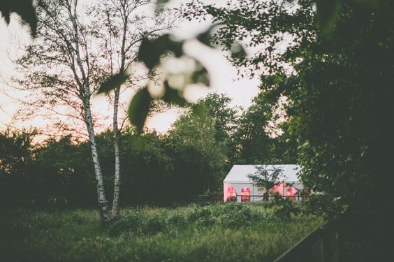 DIY-Outdoor-Hochzeit in Norddeutschland