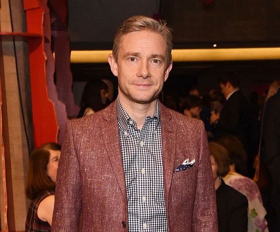 """thefreebeard: """" Martin Freeman attends a Gala Performance of 'wonder.land' at The National Theatre on December 3, 2015 in London, England. """""""