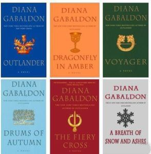 The Outlander series... one of my very favorite sets of books. Especially Outlander.