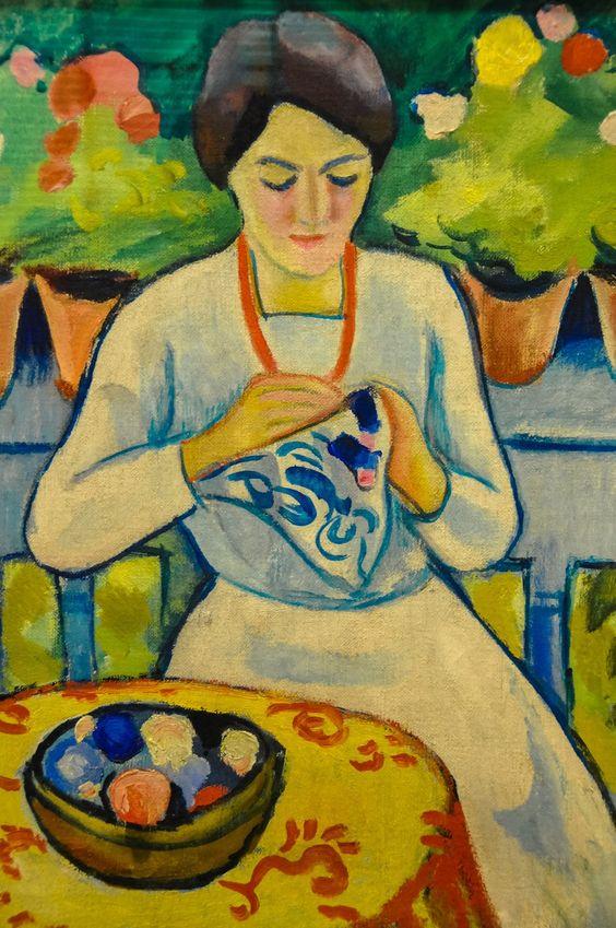 August Macke (1887-1914) 1910