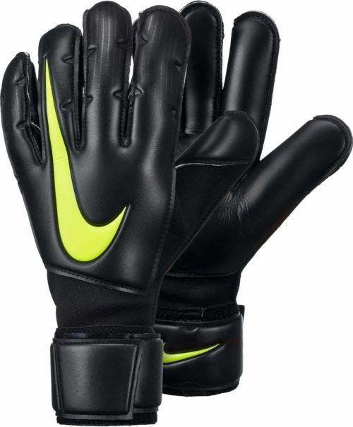 Nike Goalkeeper Gloves Nike Gk Confidence Gloves Goalie Gloves Goalkeeping Yellow Yellow Black Goalie Gloves Goalkeeper Gloves Goalkeeper