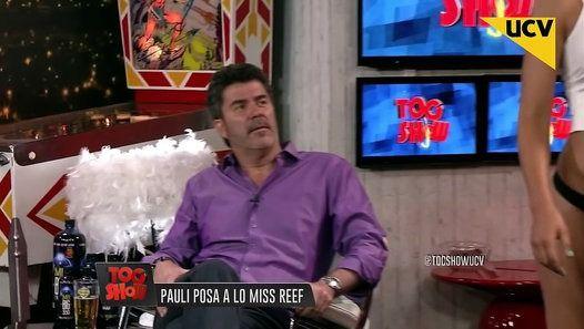 Watch the video «Toc Show (18-01-2016) - Pauli Bolatti posa al sensual estilo de Miss Reef» uploaded by Levan J on Dailymotion.