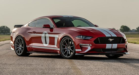 Hennessey S New 808hp Ford Mustang Heritage Edition Is Inspired By