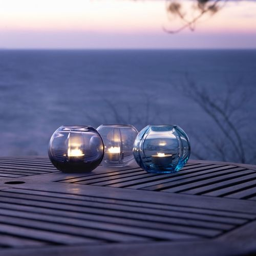 Tealight holder, radiant orchid and other colours, Rosendahl | desiary.de - identity store