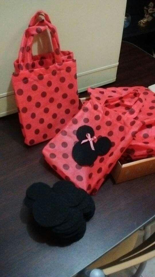 #Bolsitas personalizadas #Minnie
