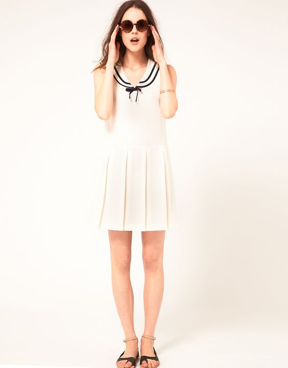 Boutique by Jaeger. As if I need any more sailor dresses..