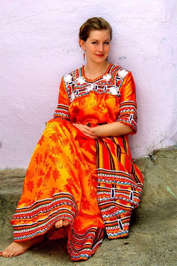 L'habit traditionnel kabyle, une fierté du peuple kabyle !