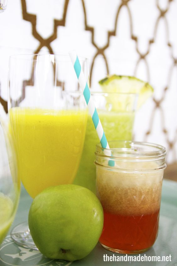 3 yummy juicing recipes for newbies | the handmade home
