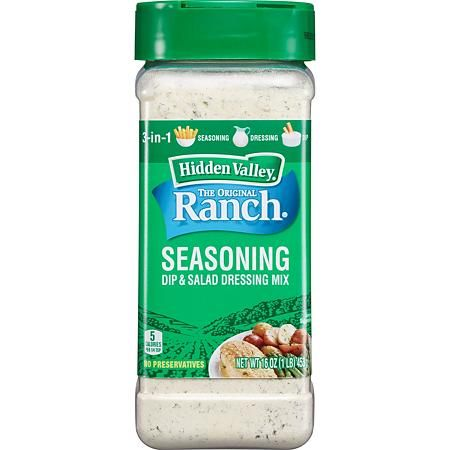Hidden Valley Original Ranch Salad Dressing And Seasoning Mix 16 Oz Sam S Club In 2020 Yogurt Ranch Dressing Ranch Salad Seasoning Mixes