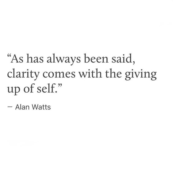 "312 Likes, 10 Comments - Rory 🌀 (@1.61803phi) on Instagram: ""#alanwatts #self #nonself #ego #givingup #lettinggo #clarity #mindfullness #quoteoftheday #quotes…"""