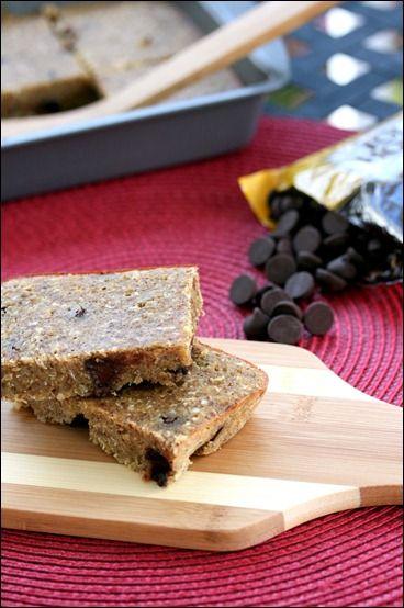 Gluten Free Dark Chocolate Quinoa Bars
