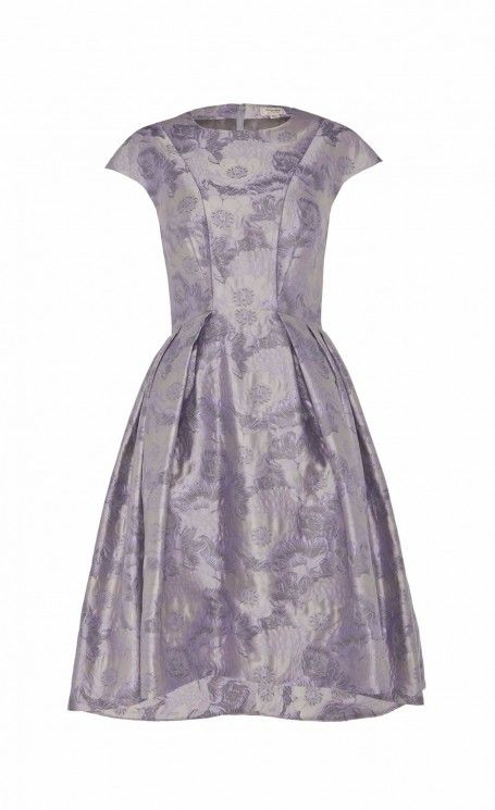 Rosa Jacquard Structured Dress by Temperley