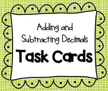 TASK CARD TRAUMA:  Three methods for using Task Cards in the classroom.