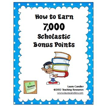FREE How to Earn 7000 Scholastic Bonus Points - Complete system for earning thousands of bonus points with your first book club order. Newly updated for 2012. Try this - it works!
