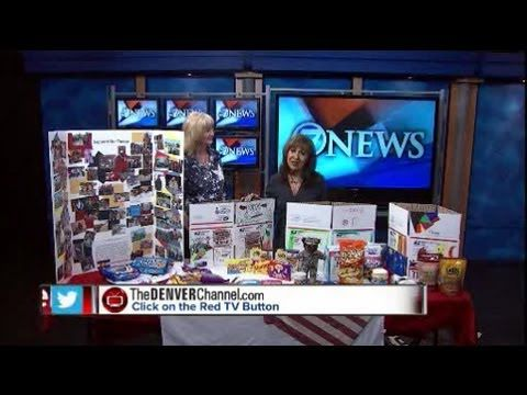 Supporting Our Troops with Care Packages - 7News Denver