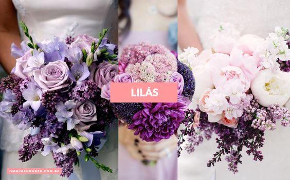 BLOG OMG I'm Engaged - Inspirações de buquês de Primavera. Spring wedding bouquets.