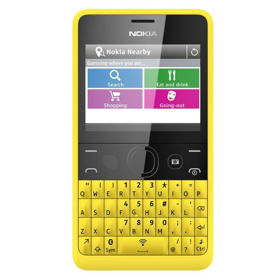 [[ราคา]] Nokia Asha 210 - สีเหลือง