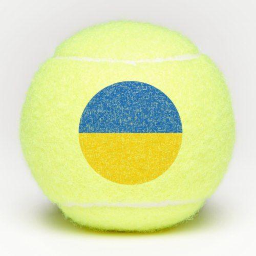 Penn Tennis Ball With Flag Of Ukraine Tennis Ukraine Flag Ball