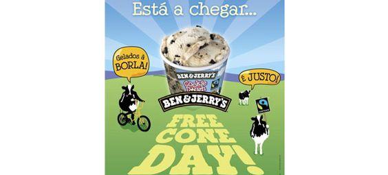Pioneira no lançamento de sabores certificados de Comércio Justo, a marca de gelados Ben's celebra nos próximos dias 9 e 12 de abril na capital e na cidade Invicta, respetivamente, uma tradição existente em todo o mundo desde 1979, ano em que se celebrou o primeiro aniversário da marca.