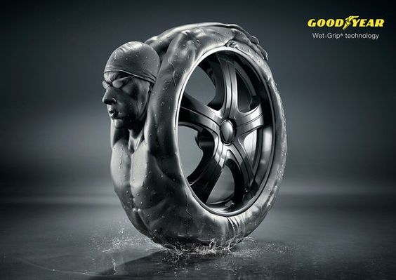 Goodyear Print Campaign by Zombie Studio