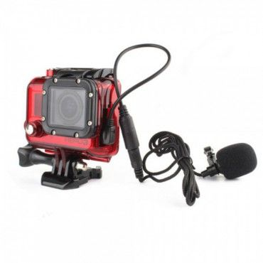 3.5mm Mikrofon Adapter Kabel für GoPro Hero 4/3+/3 - GoPro - GoPro Ladekabel und -stationen - Bild 9