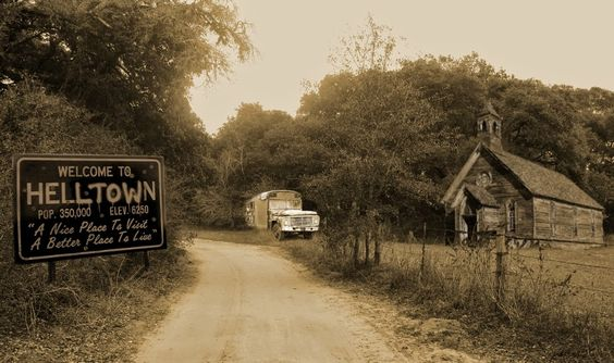Helltown-Ohio. Mysterious ghost town in Ohio.