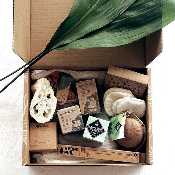 caja regalos sorpresa color eco-friendly