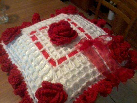 cuscino fatto con tornio telaio