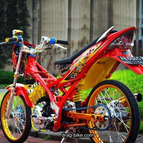 Gambar Modifikasi Satria Fu Thailand Modifikasi Satria Fu Thailook Terbaik Terkeren Air Brush Kontes Motor Honda Cb Gambar