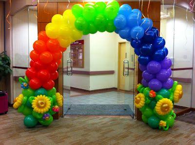 arreglos con globos para fiestas decoracin de fiestas infantiles