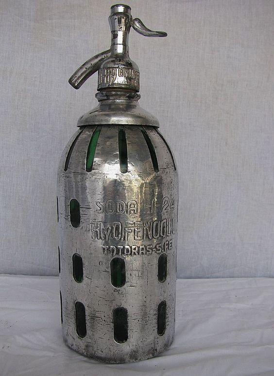 Vintage Seltzer Bottle 44