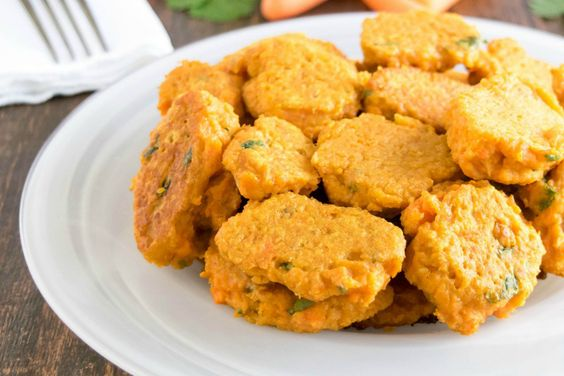 Baked and mildly spiced fritters with slight flavor of bread crumbs ...