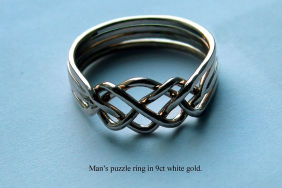 4 band puzzle ring instructions