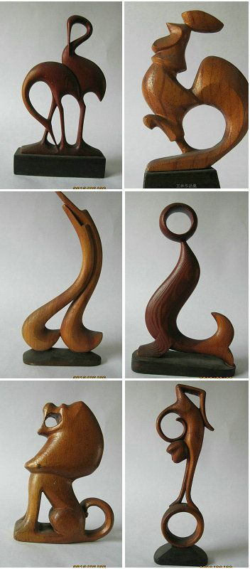 Woodcarving animals by linwang håndverk pinterest