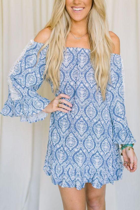Off-Shoulder Delilah Dress