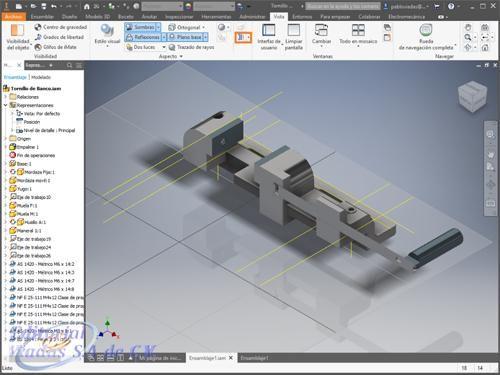 Autodesk Inventor 2019 Curso Avanzado Plano De Detalle Diseno Mecanico Programas De Diseno