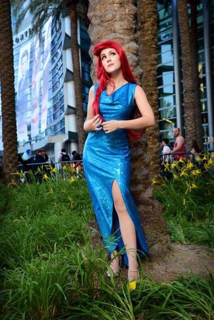 Ariel cosplay made by my hubby J. Lance Moose of Heroes of Cosplay