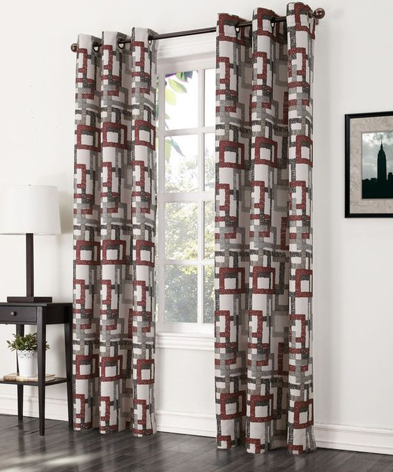 Look at this Paprika Kaveri Grommet Curtain Panel on #zulily today!