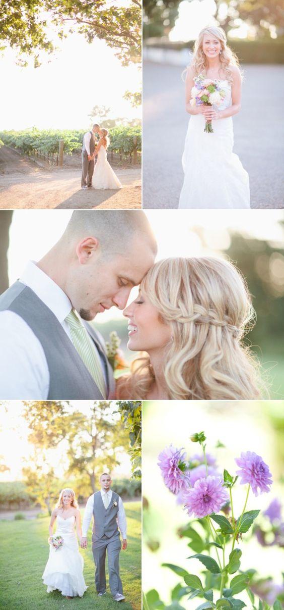 Lodi, California Vineyard Wedding from Marin Kristine Photography | Style Me Pretty