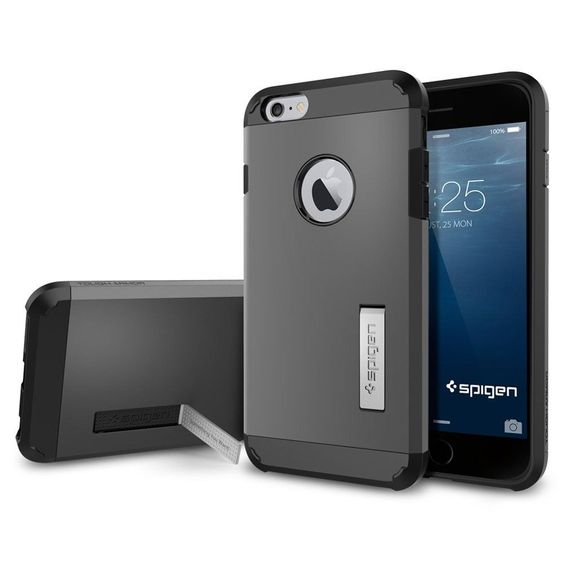 "Spigen iPhone 6 Plus Case 5.5"" HEAVY DUTY PROTECTION Armor Case 2DAY SHIPPING #Spigen"