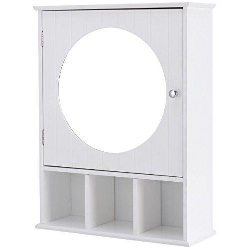 DESIGNSCAPE3D Premium 3-Tier Storage Rack Over The Toilet Bathroom Storage Shelf