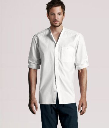 white shirt for shane