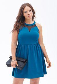 Plus Sizes | Forever 21 halter dress
