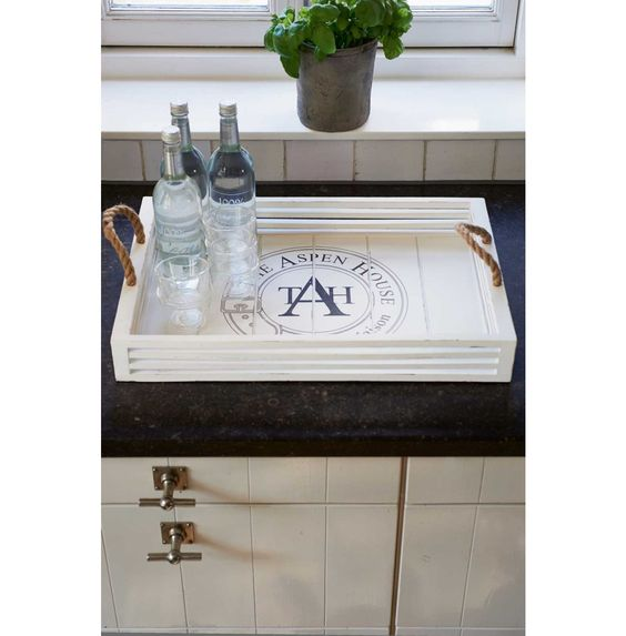The Aspen House Serving Tray 40x60 - Rivièra Maison #rivieramaison #home #living #styling #homedeco #interior: