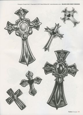 Cross Tattoo - Kreuze