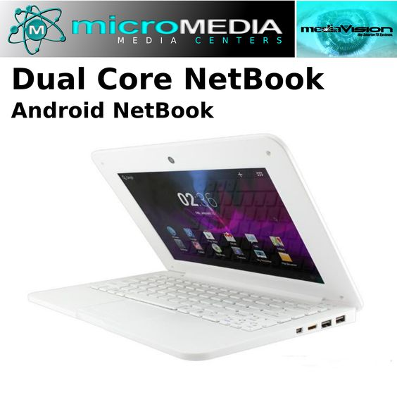 """10"""" Dual Core Android Netbook"""